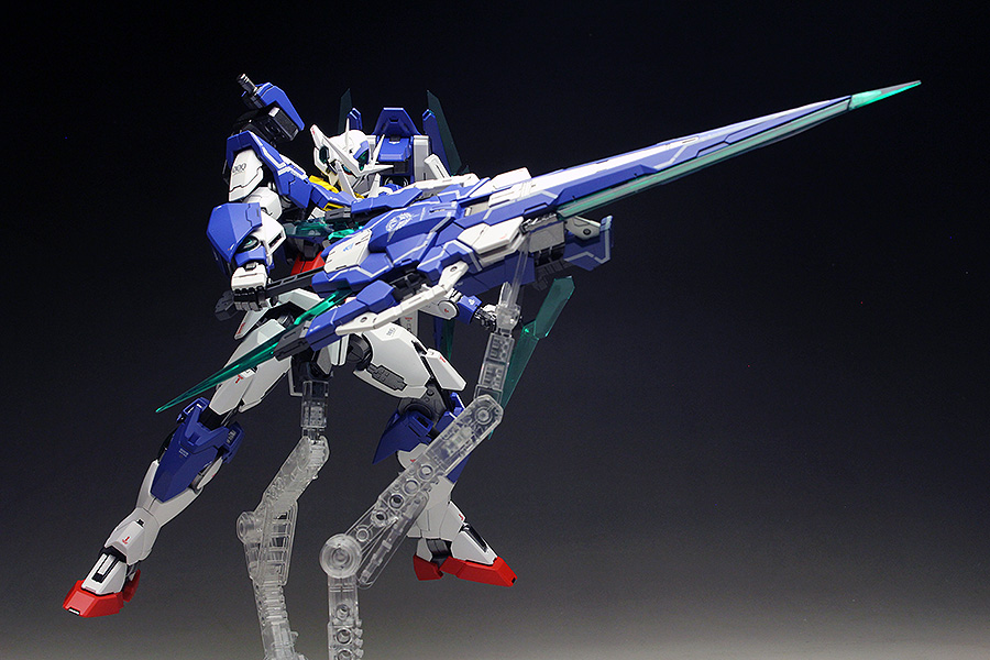 [WORK] MG 1/100 00 QAN[T] FULL SABER painted build, many many images, credits