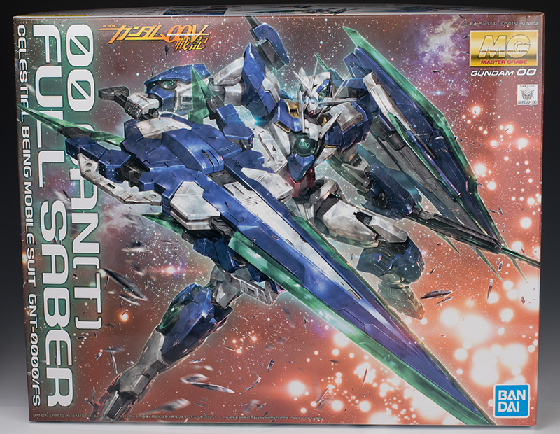 REVIEW MG 1/100 00 QAN[T] FULL SABER (No.96 Images, credits)