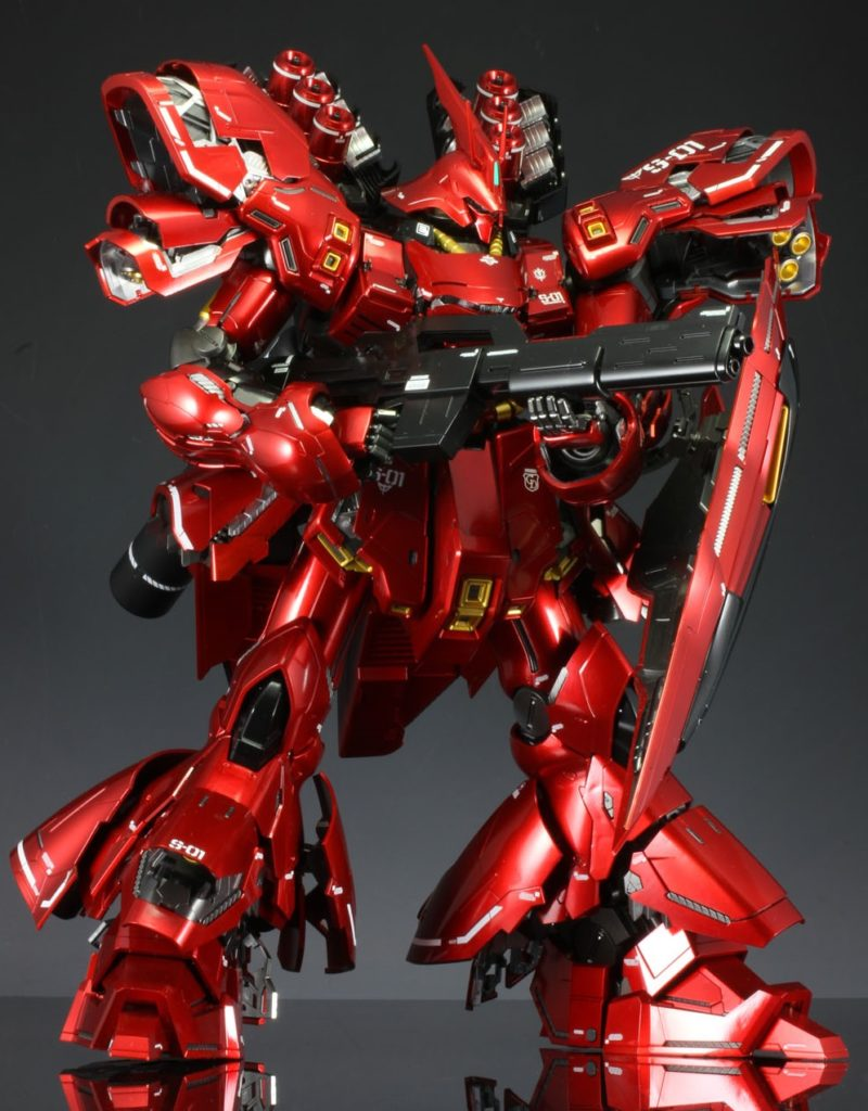 qfxdr678's MG Sazabi Ver.Ka (w/LED Unit) FULL REVIEW, Info