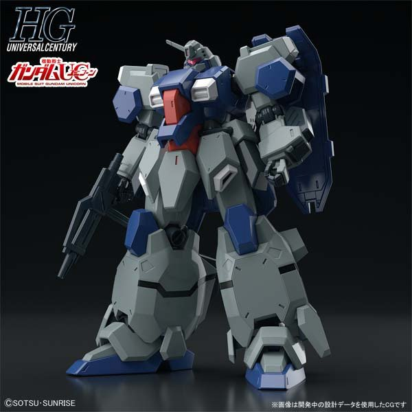 HGUC 1/144 GUSTAV KARL (Unicorn Ver.): New Official Images, Info