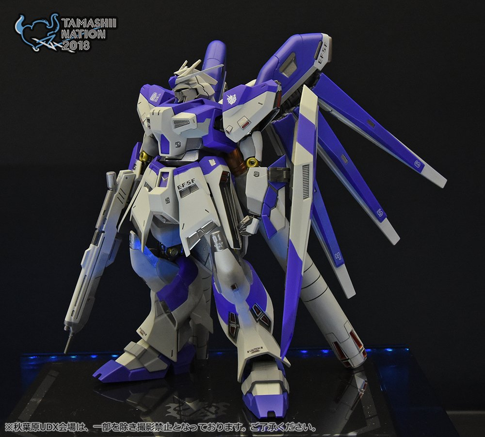 Preview METAL ROBOT魂 Hi-Nu GUNDAM New Version