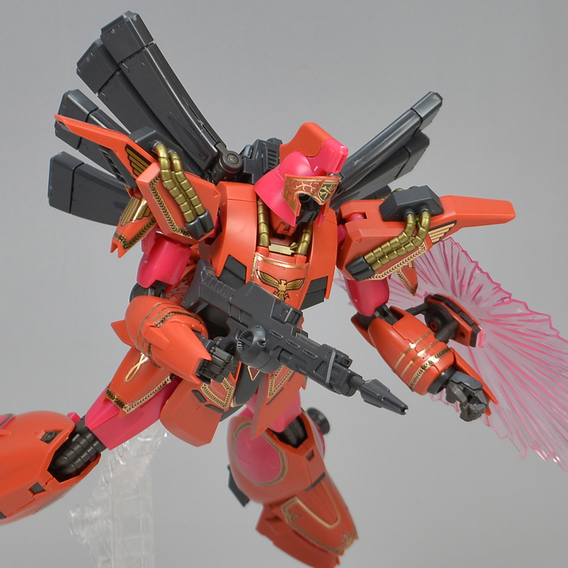 REVIEW P-Bandai RE/100 VIGNA-GHINA BERAH RONAH SPECIAL: No.60 images, credit