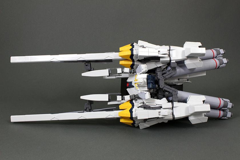 HGUC 1/144 RX-9/A NARRATIVE GUNDAM A-PACKS REVIEW: No.97 images, credit