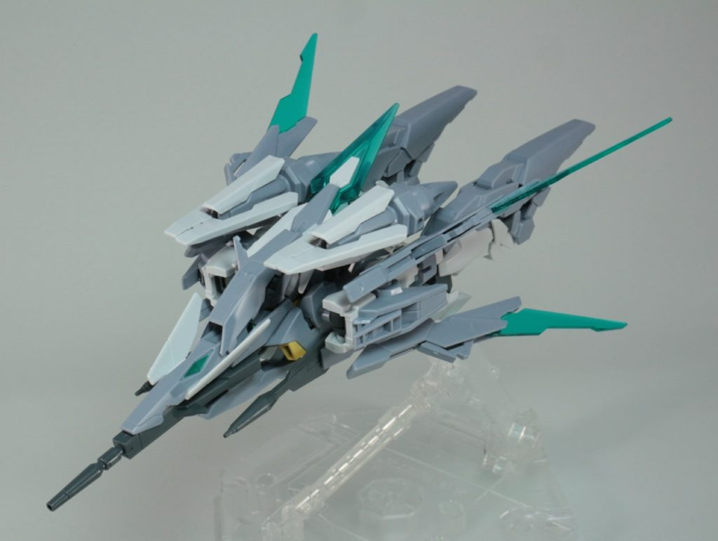 2nd REVIEW: HGBD 1/144 GUNDAM AGE II MAGNUM SV ver. (No.76 images, credit) RUNNERS and ASSEMBLED