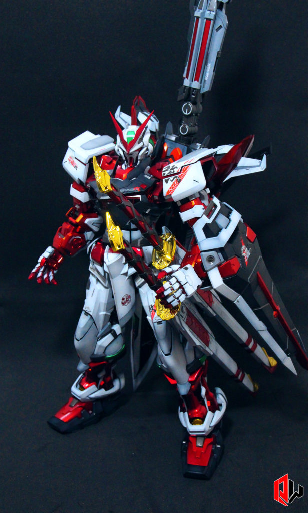 Quadsodx Workz PG Astray Red Frame Kai Multi-colored