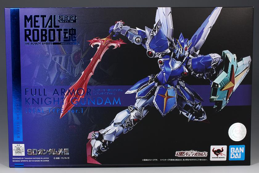 P-Bandai METAL ROBOT魂 FULL ARMOR KNIGHT GUNDAM REAL TYPE Ver. REVIEW (No.78 images, credit)