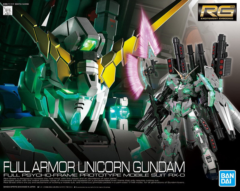 FULL REVIEW RG 1/144 FULL ARMOR UNICORN GUNDAM (No.130 images, credit)