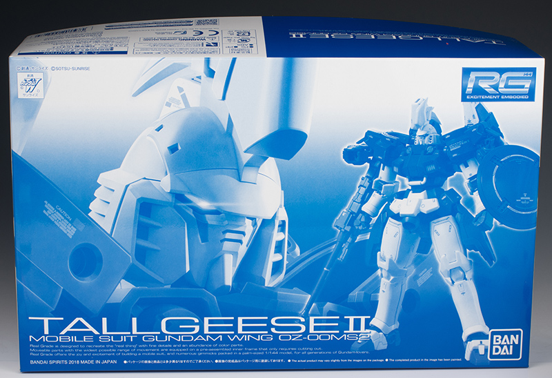P-Bandai RG 1/144 TALLGEESE II REVIEW (No.56 images, credit)