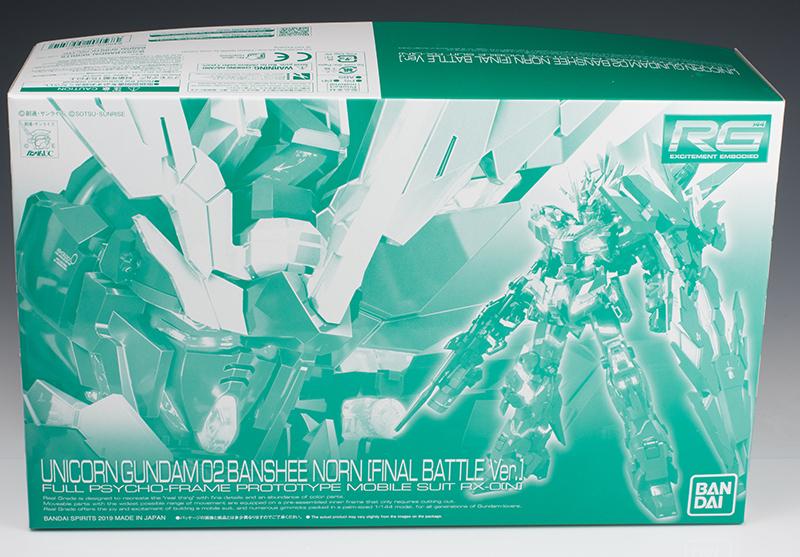 P-Bandai RG 1/144 UNICORN GUNDAM 02 BANSHEE NORN FINAL BATTLE Ver. REVIEW (No.75 images, credit)