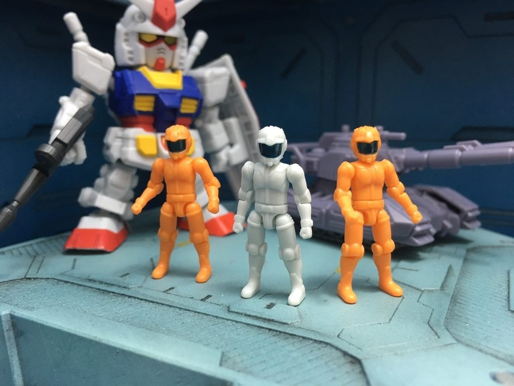 GUNDAM MICRO WARS (first release) REVIEW