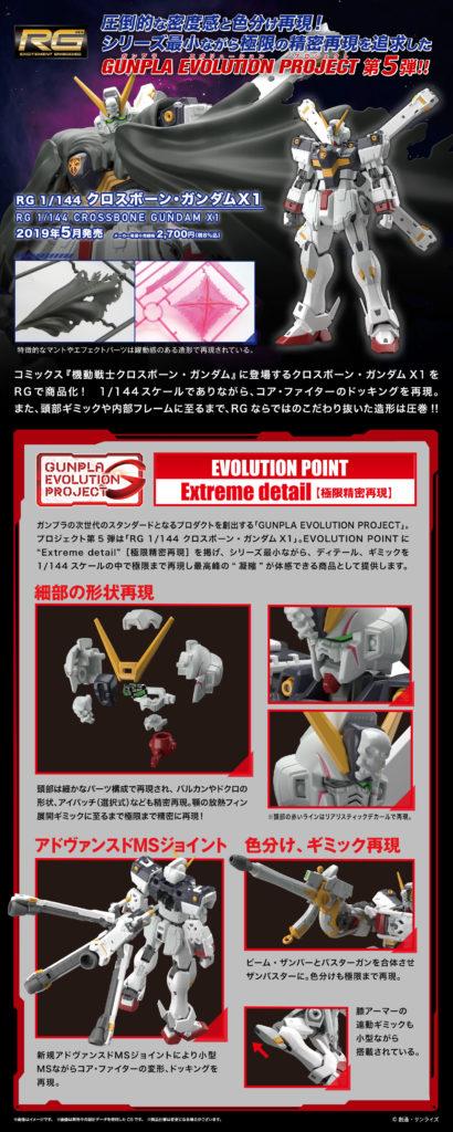 No. 11 Images RG Crossbone Gundam X1