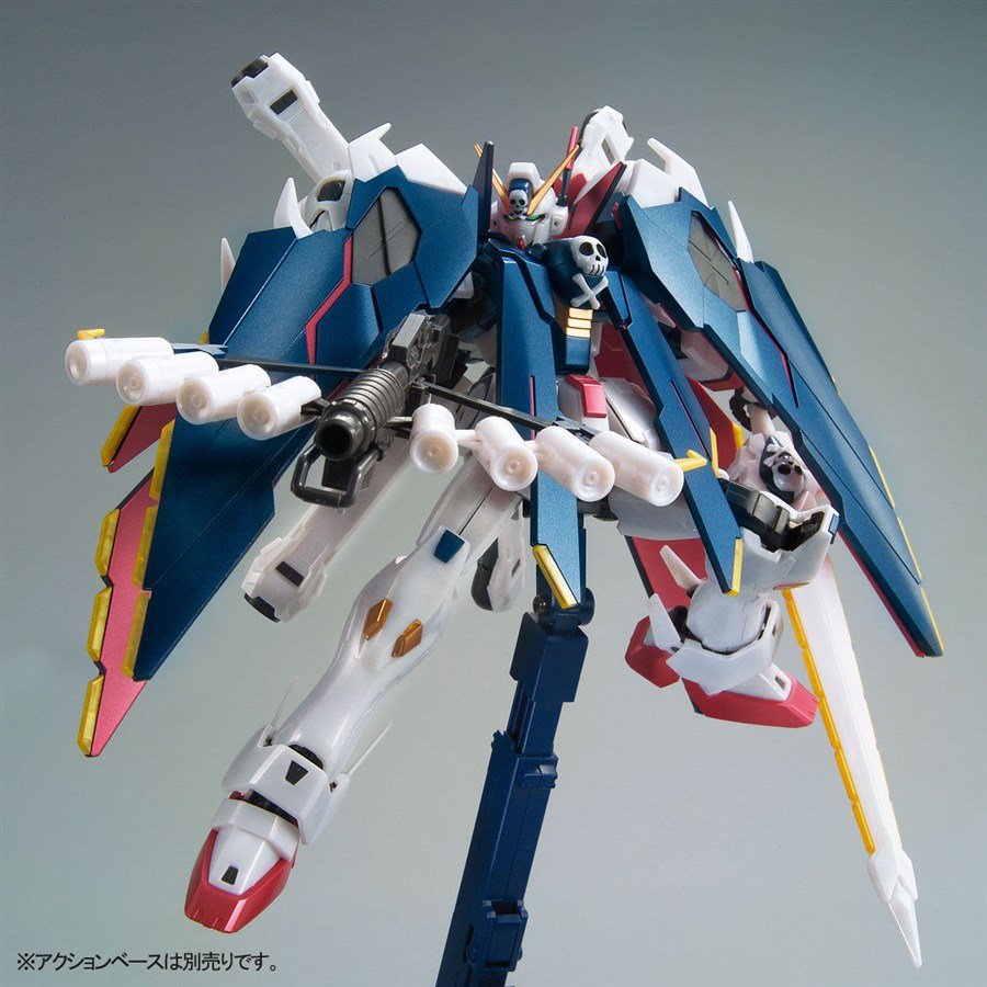 MG 1/100 Gundam Base Limited Crossbone Gundam X-1 Full Cloth [Extra Finish] Full info, images