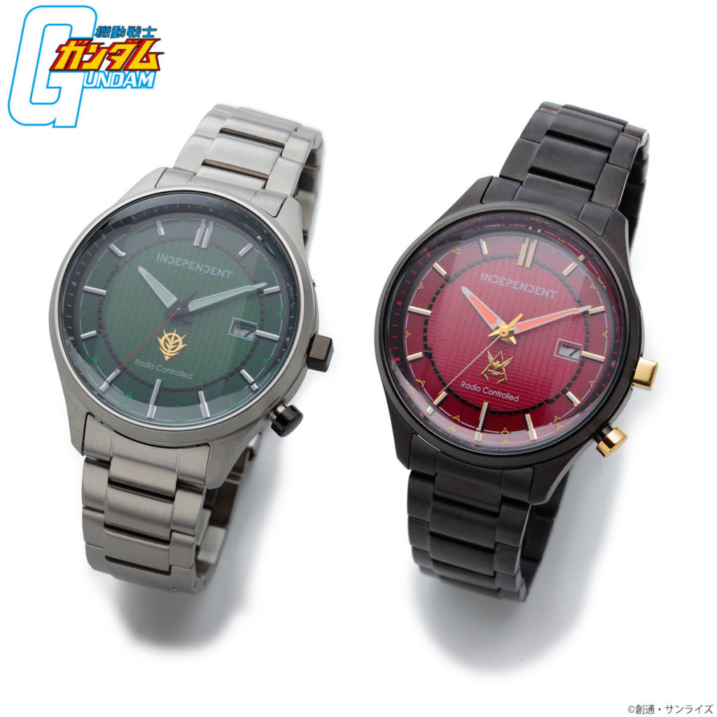 P-Bandai Mobile Suit Gundam x INDEPENDENT Zeon Watch 40th Anniversary Model