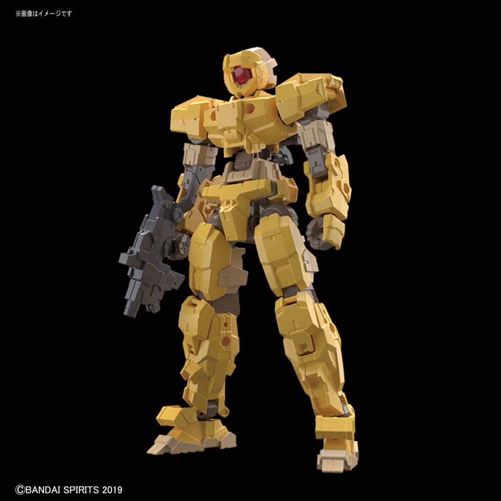 30MM 1/144 eEMX-17 ALTO [YELLOW]: FULL Info, images