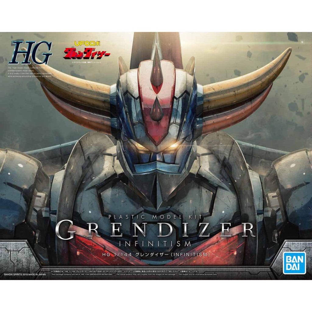 HG 1/144 GRENDIZER(INFINITISM): FULL Eng Description, No.12 official images