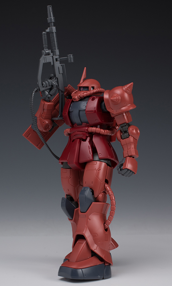 REVIEW HG 1/144 ZAKU II RED COMET Ver. (The ORIGIN Series)