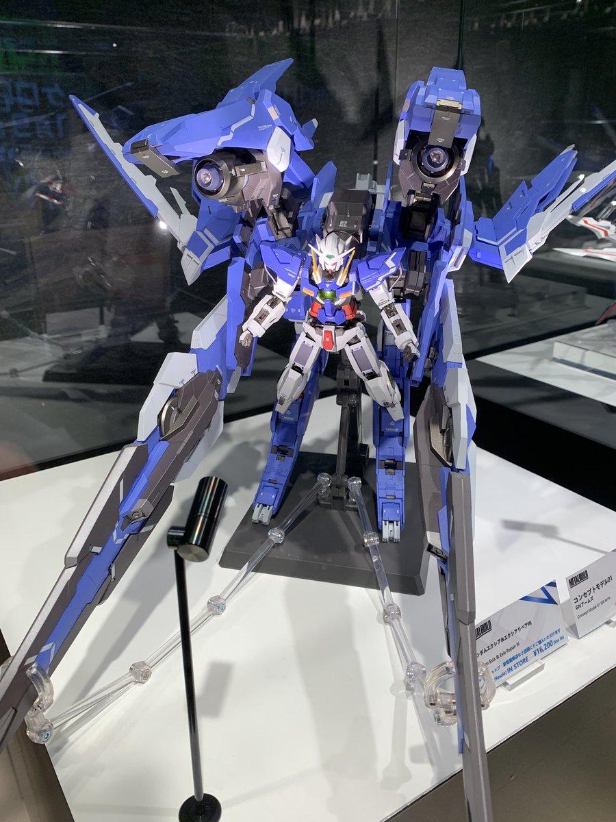METAL BUILD CONCEPT MODEL 01 GN ARMS