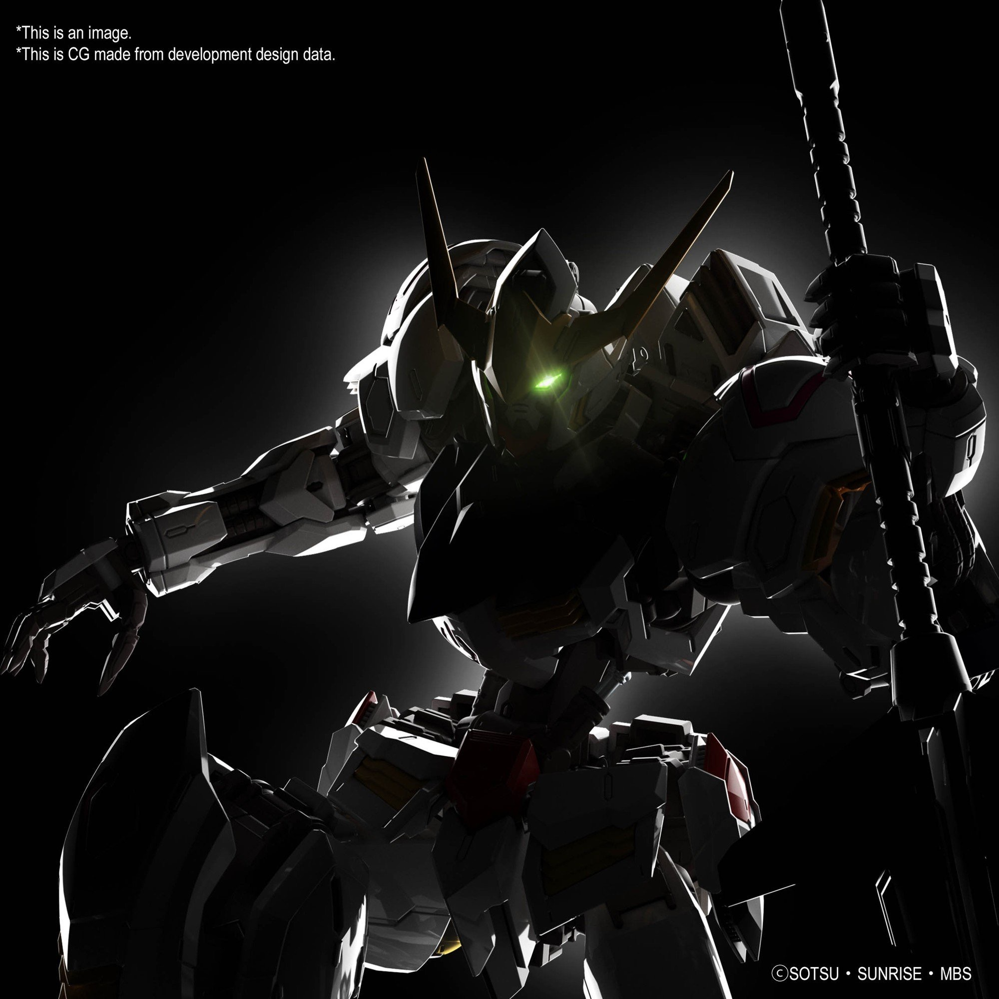 A New 1/100 GUNDAM BARBATOS model kit coming from Gunpla. Images by Bandai Spirits on Twitter