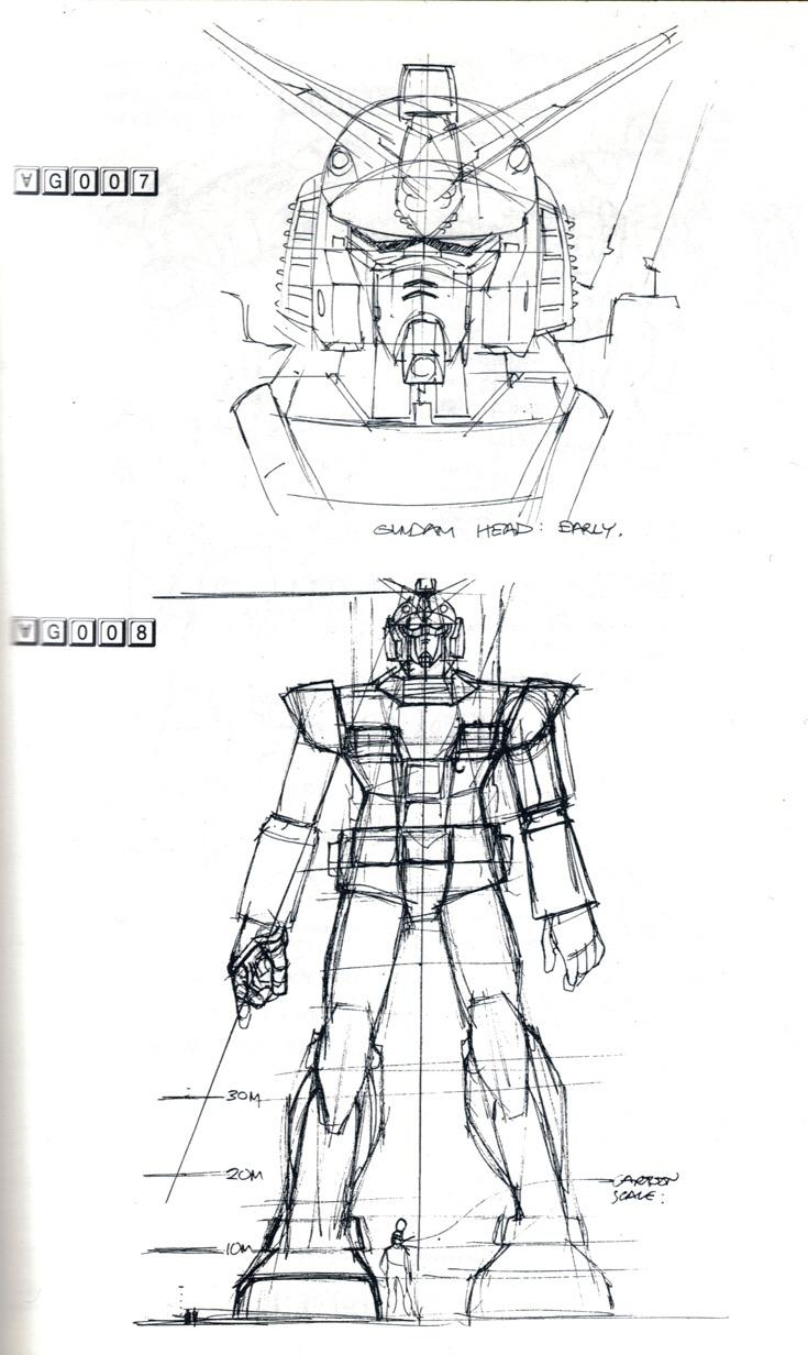 Gundam: Mead's Turn A Study (No.26 scans)