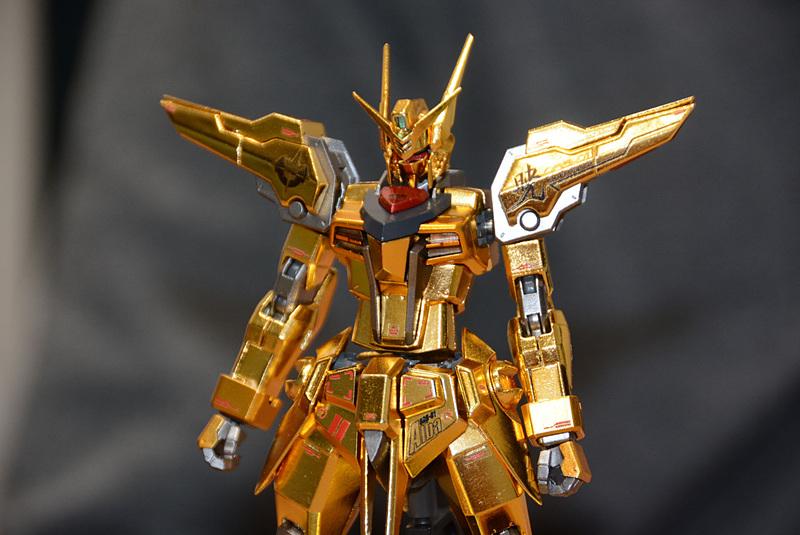 Sample Images P-Bandai METAL ROBOT魂  OOWASHI AKATSUKI GUNDAM