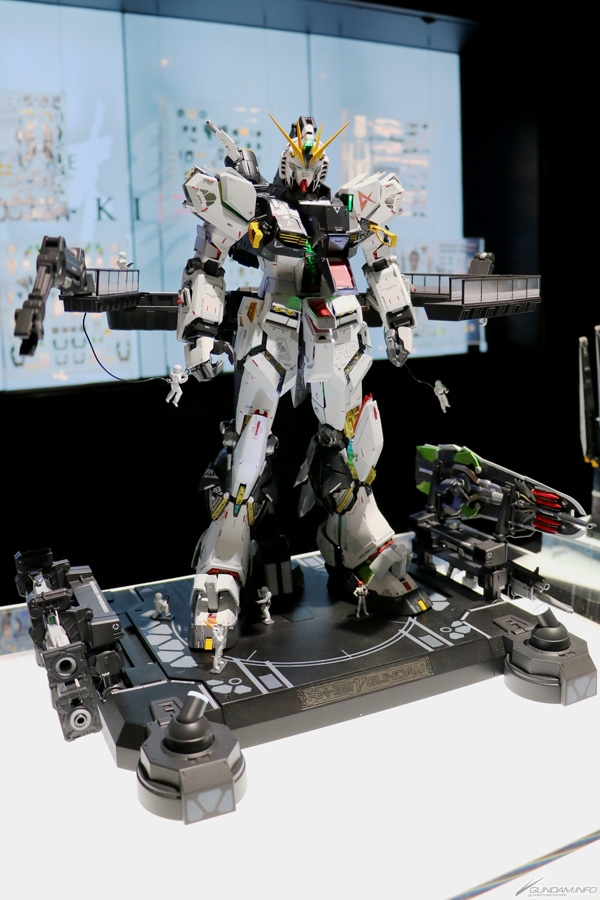 METAL STRUCTURE 解体匠機 RX-93 Nu GUNDAM @ INTERNATIONAL TOKYO TOY SHOW 2019. NEW images, info