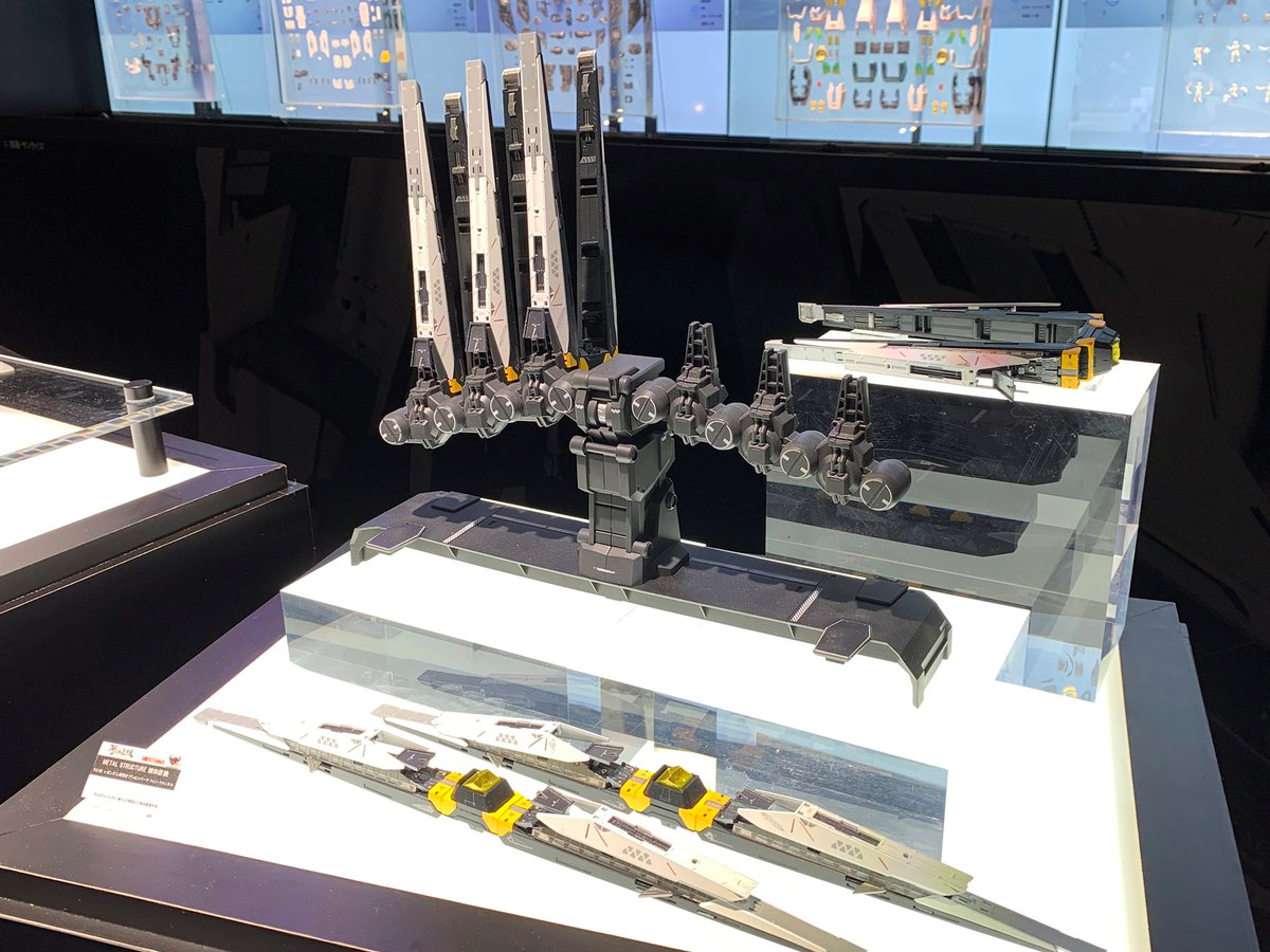 METAL STRUCTURE 解体匠機 RX-93 Nu GUNDAM @ INTERNATIONAL TOKYO TOY SHOW 2019. Many images