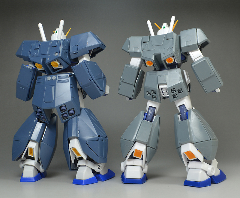 THE ULTIMATE Review/Comparison of MG 1/100 GUNDAM NT-1 (ALEX) Ver. 2.0 (No.127 images on site, credit)