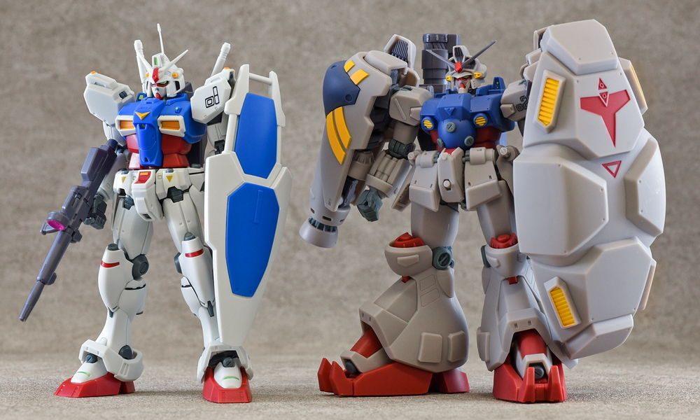 "July 20  ROBOT魂 GUNDAM GP01 ver. A. N. I. M. E.  and August release ""ROBOT魂 GUNDAM GP02A ver. A. N. I. M. E.  REVIEW many images"
