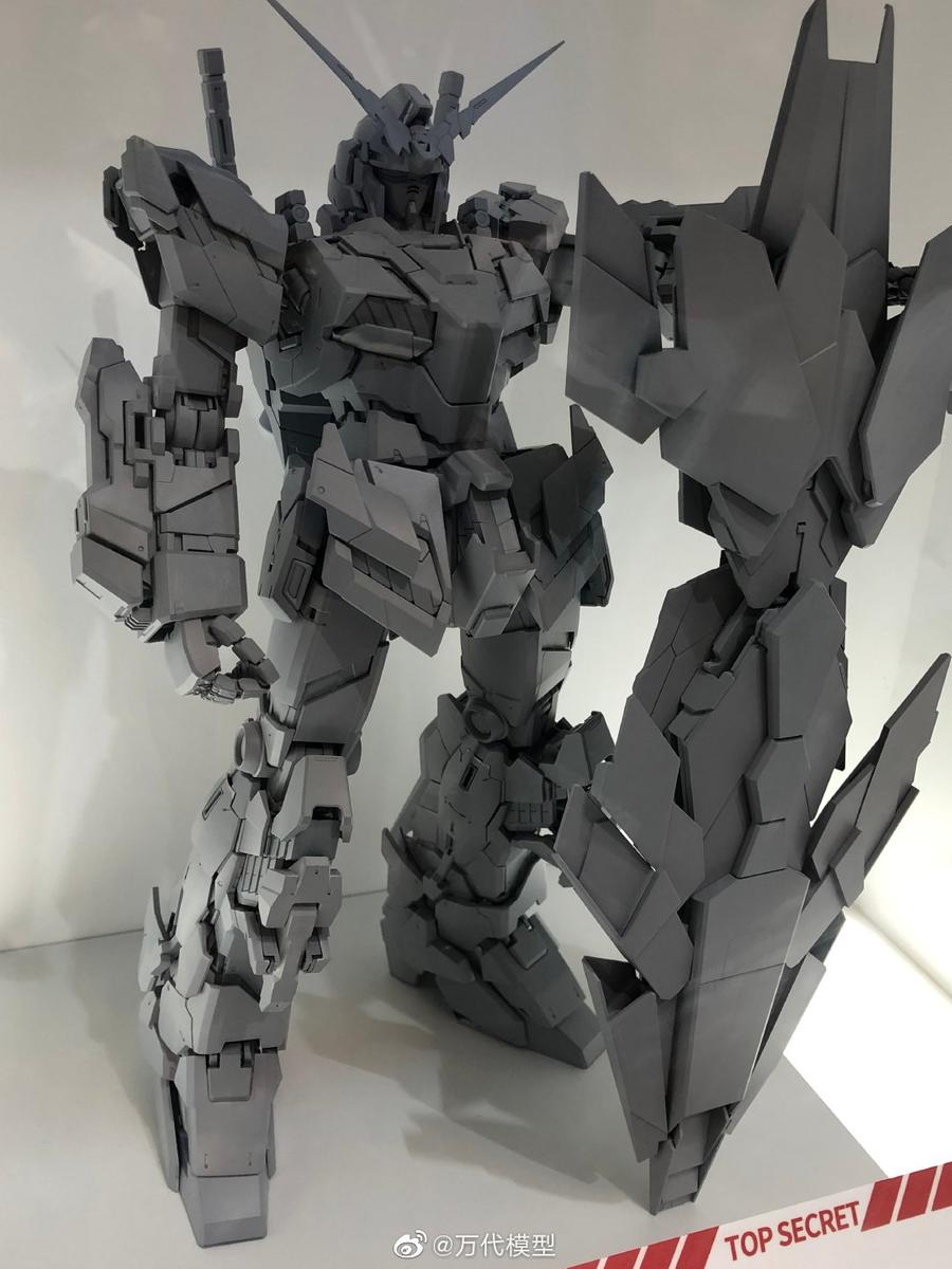 BANDAI HOBBY ONLINE SHOP Public Offering Details on July 15, 2019: Model PG 1/60 Unicorn Gundam Bande Dessinee Ver.