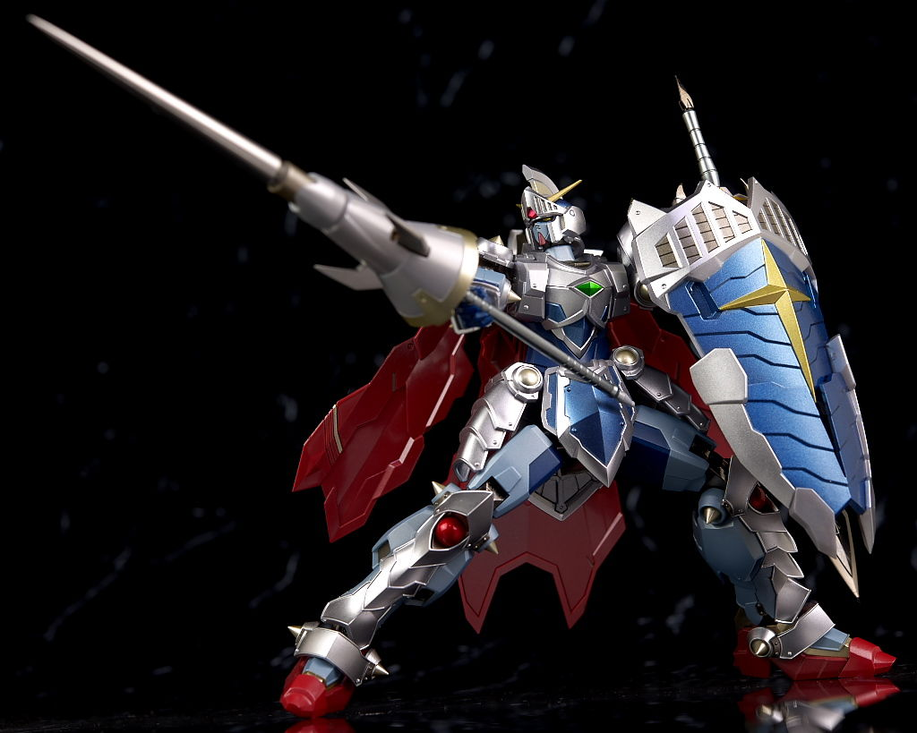 REVIEW METAL ROBOT魂 KNIGHT GUNDAM LACROAN HERO (No.22 images)