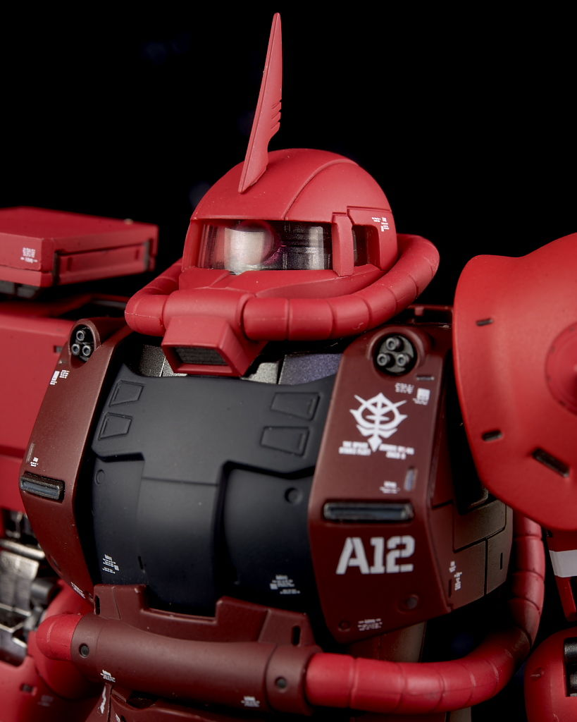 REVIEW GUNDAM FIX FIGURATION METAL COMPOSITE MS-06S Char's Zaku II (No.35 images, credit)