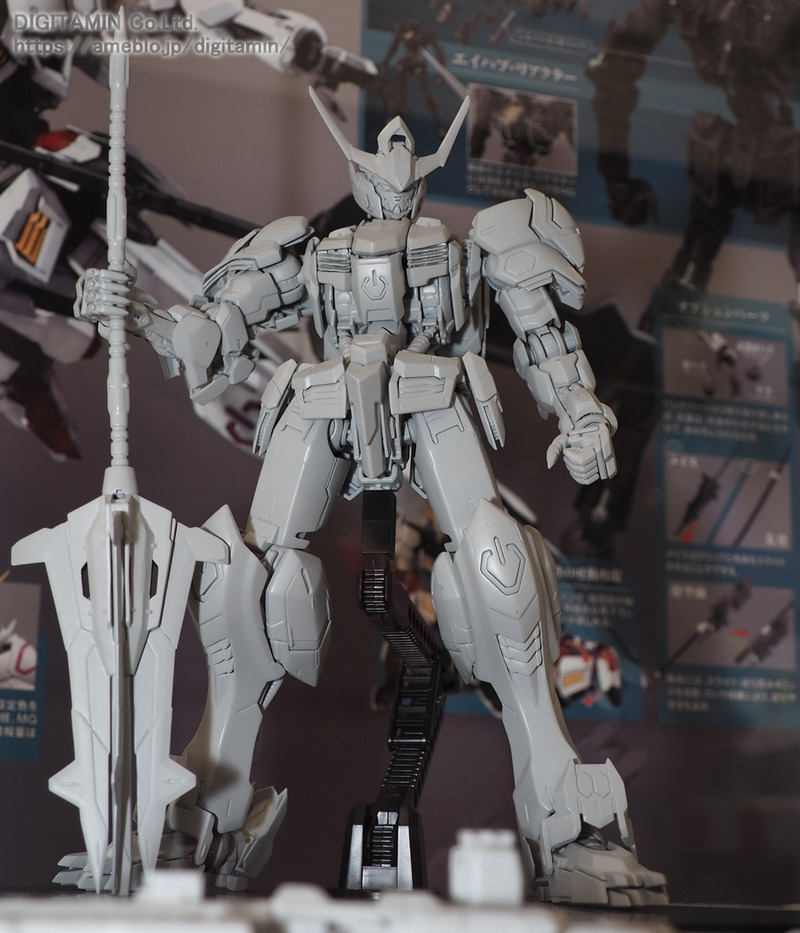 MG 1/100 GUNDAM BARBATOS on display @ Gundam Base Tokyo