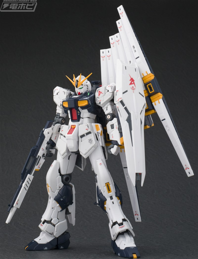 Just added NEW Images RG 1/144 RX-93 Nu GUNDAM