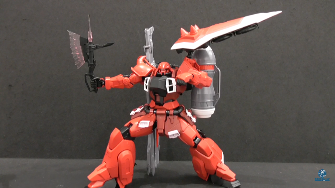NEW IMAGES MG 1/100 GUNNER ZAKU WARRIOR LUNAMARIA HAWKE CUSTOM by The Gundam Base via YouTube