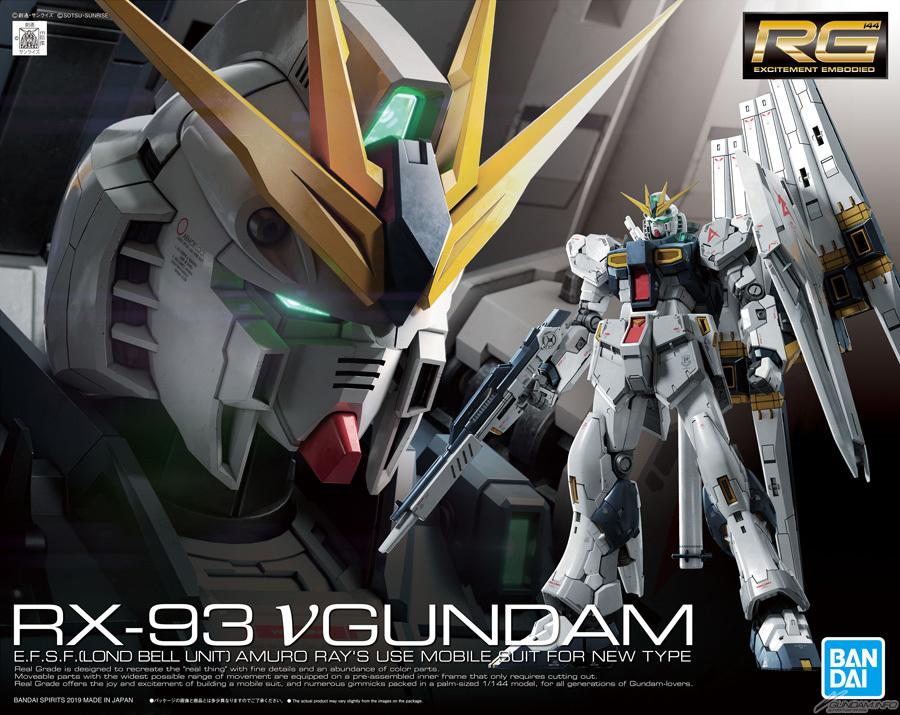 UPDATE IMAGES RG 1/144 Nu GUNDAM, info