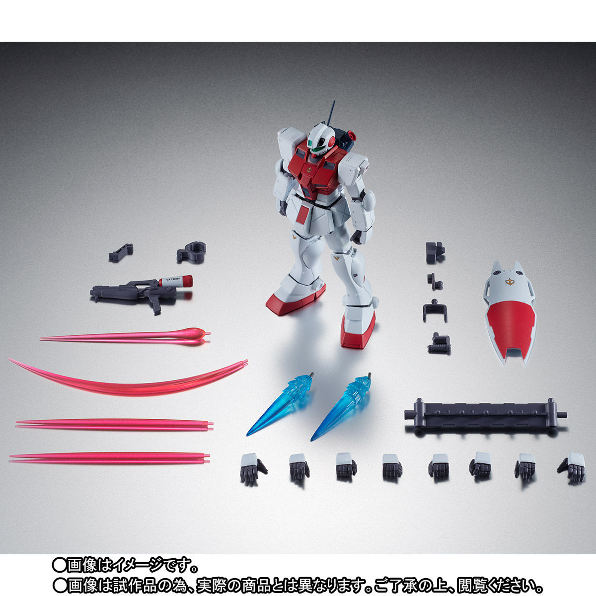 P-Bandai ROBOT魂 RGM-79GS GM Command Space Type ver. A.N.I.M.E.
