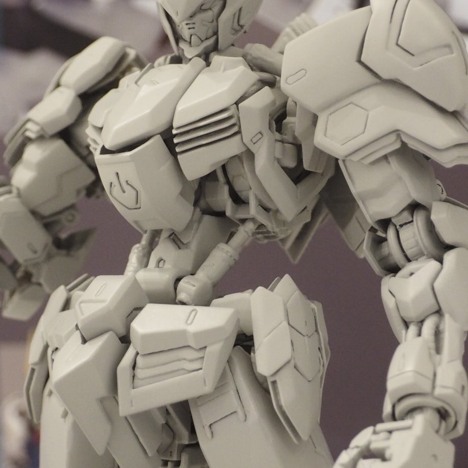 NEW IMAGES MG 1/100 GUNDAM BARBATOS on display @ Gundam Base Tokyo (Images, credit)