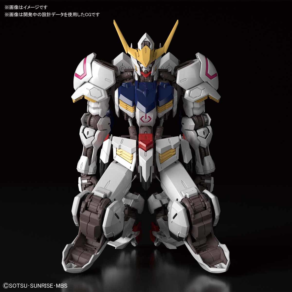 NEW IMAGES MG 1/100 GUNDAM BARBATOS
