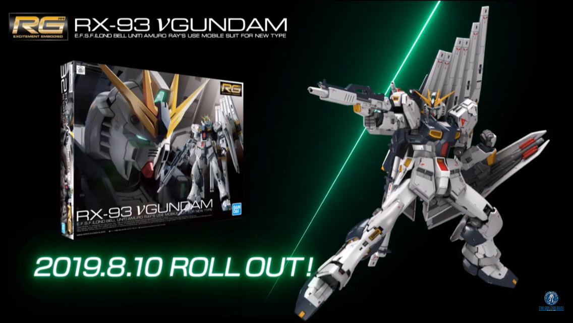 REVIEW RG 1/144 RX-93 Nu GUNDAM by The Gundam Base Tokyo via YouTube. No.46 screens and LINK