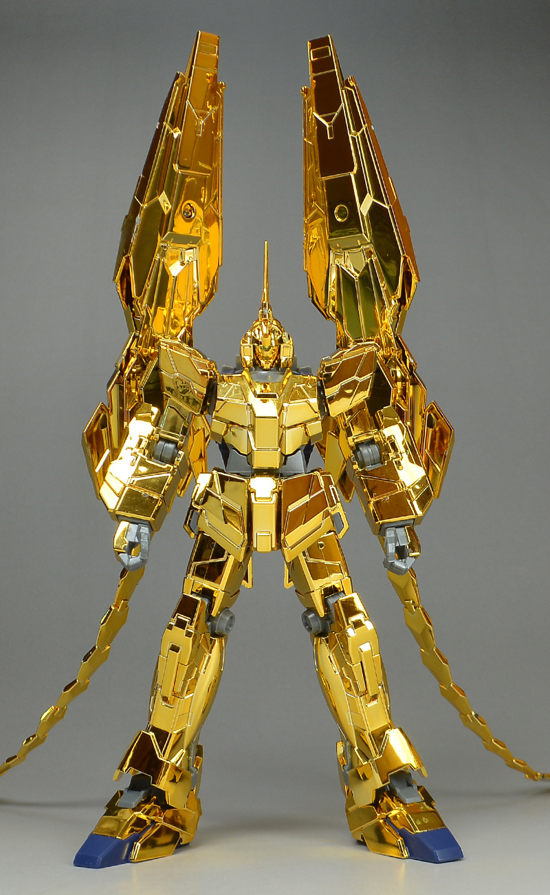REVIEW HGUC 1/144 Unicorn Gundam Unit 03 Phenex (Unicorn Mode) (Narrative Ver.) [Gold Coating]