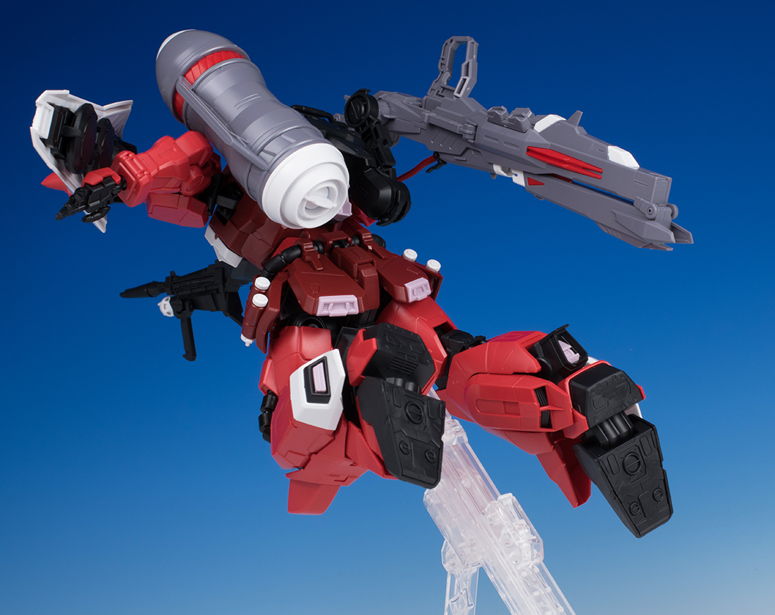 REVIEW MG 1/100 GUNNER ZAKU WARRIOR LUNAMARIA HAWKE CUSTOM
