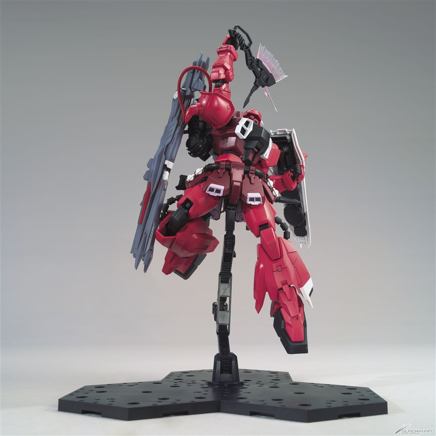 Latest images: MG 1/100 GUNNER ZAKU WARRIOR LUNAMARIA HAWKE CUSTOM