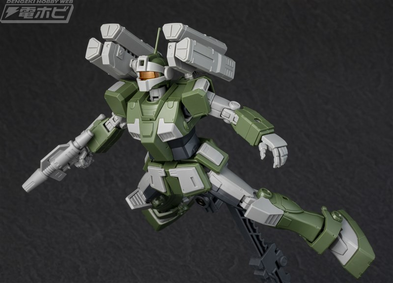New images P-Bandai HG 1/144 GM Sniper Custom (with missile and launcher equipment ) Gundam The ORIGIN MSD Series