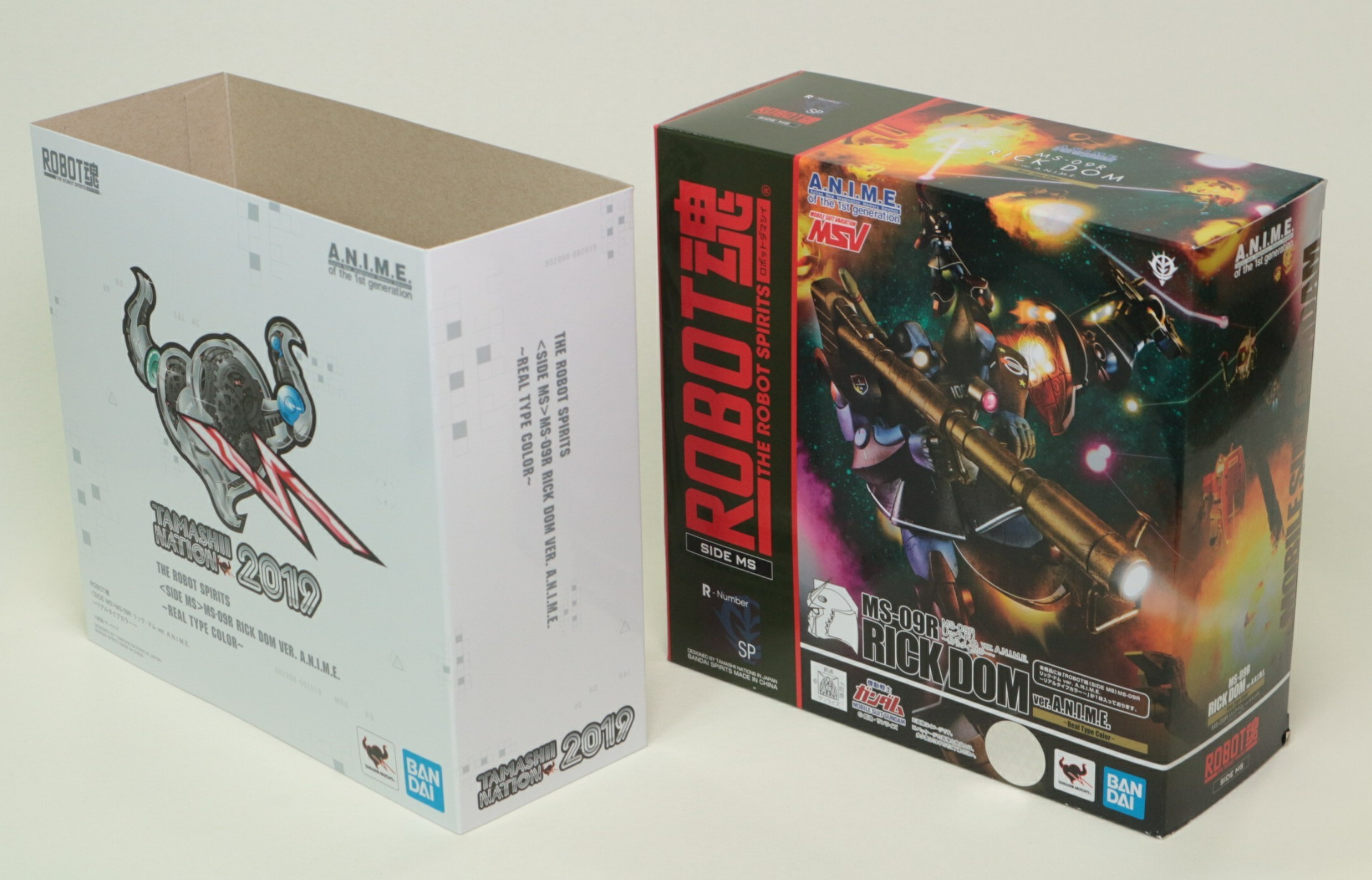 REVIEW: Tamashii Nations 2019 THE ROBOT SPIRITS RICK DOM VER. A.N.I.M.E. REAL TYPE COLOR