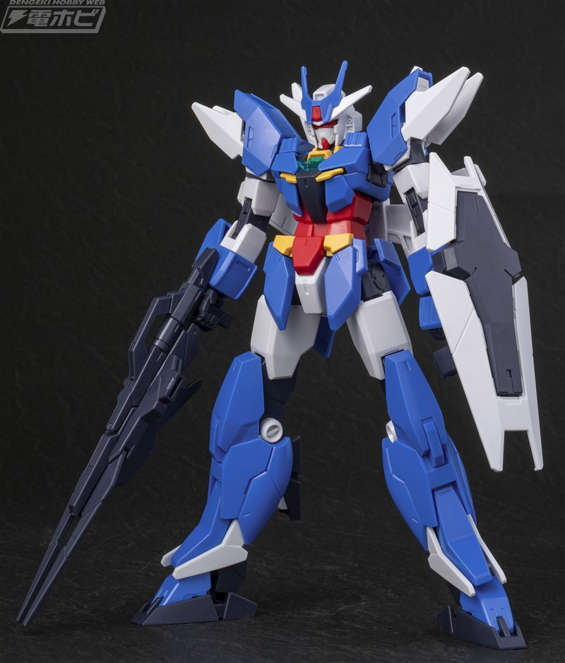 HGBD:R EARTHREE GUNDAM: box open, official images too