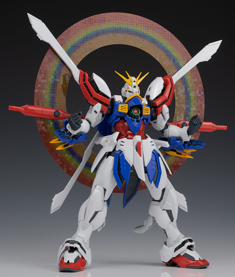 REVIEW HiRM 1/100 God Gundam