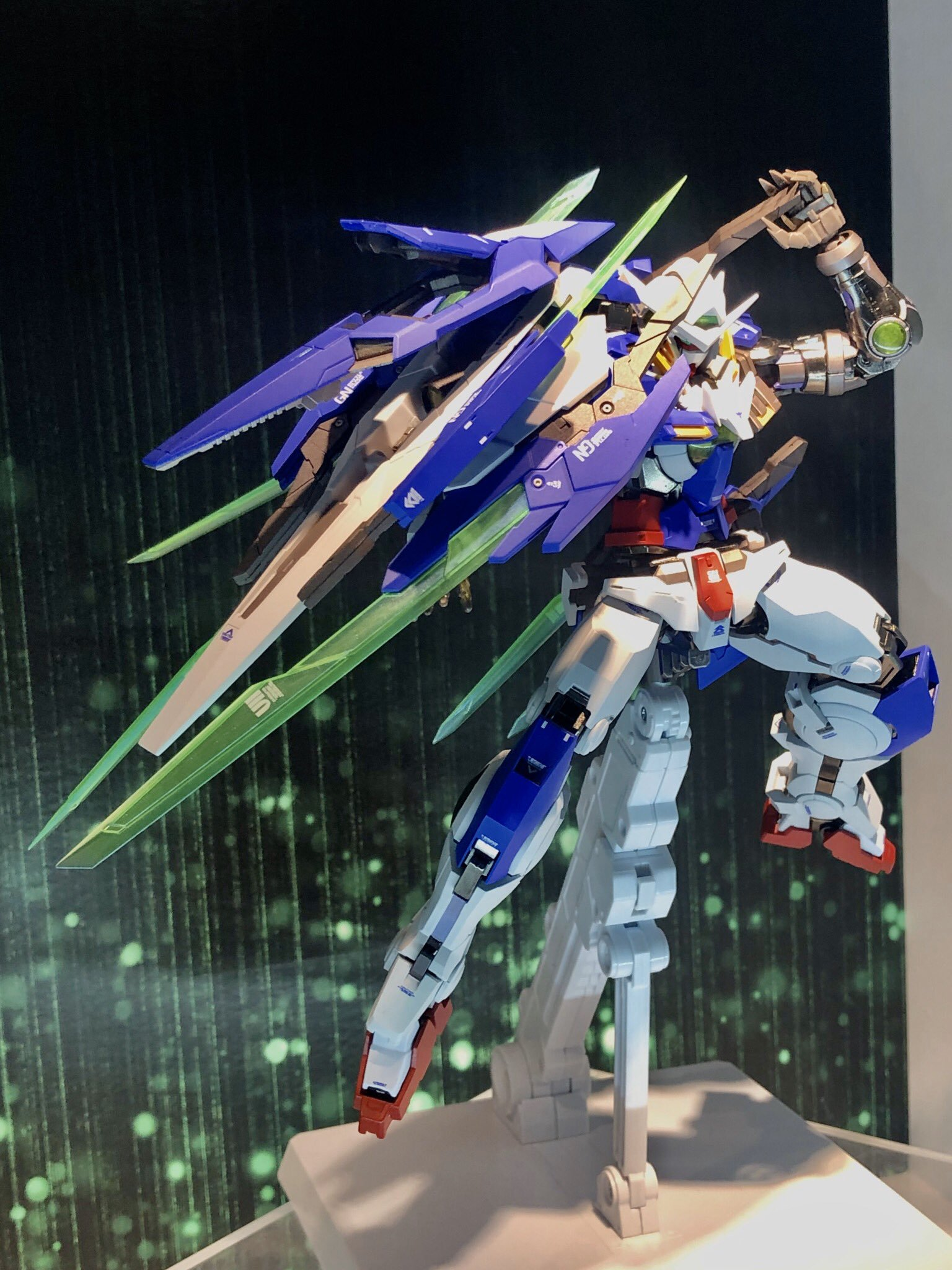METAL BUILD Gundam Exia Repair IV (new images by Kanetake on Twitter)