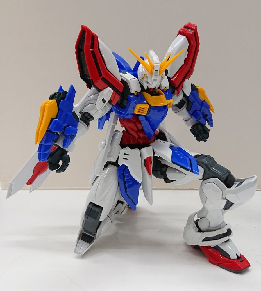 NEW IMAGES HiRM 1/100 God Gundam. 24th October release, Price 14,300 Yen