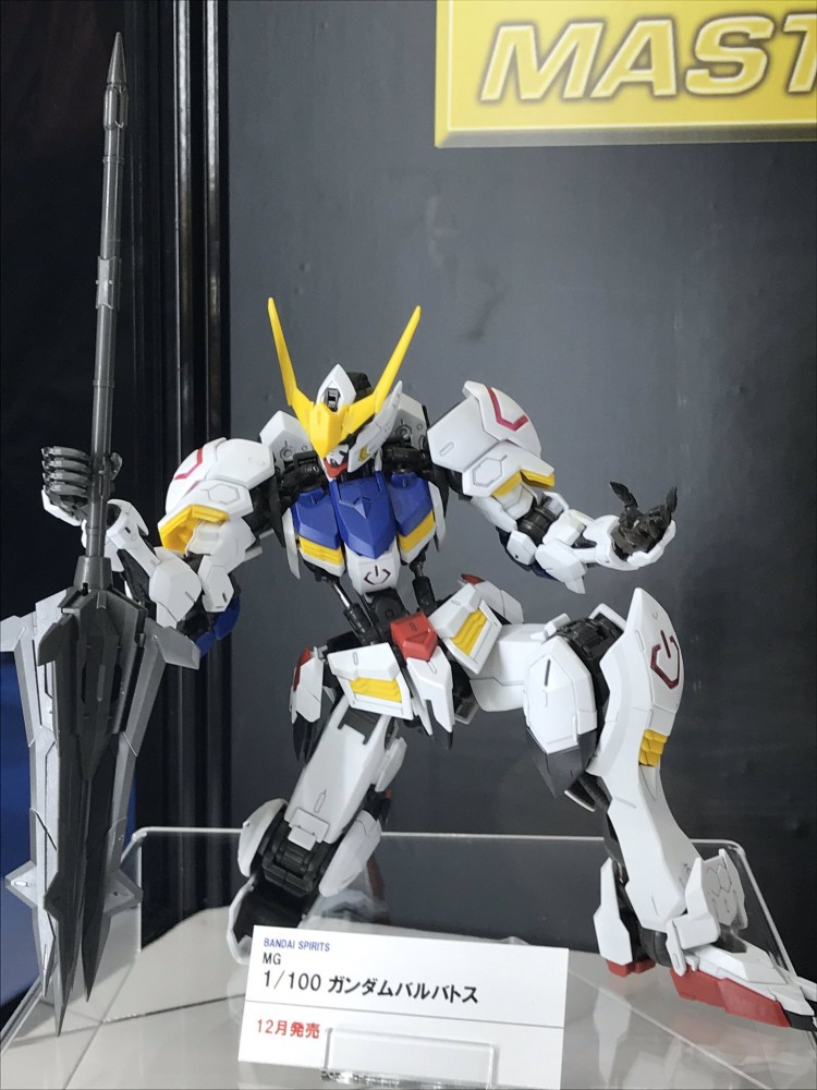 NEW IMAGES MG 1/100 GUNDAM BARBATOS December release