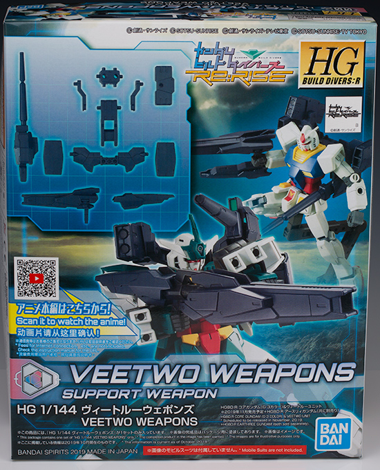 FULL REVIEW HGBD:R VEETWO WEAPONS